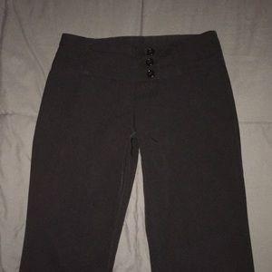Black stretch dress pants sz 5 Small